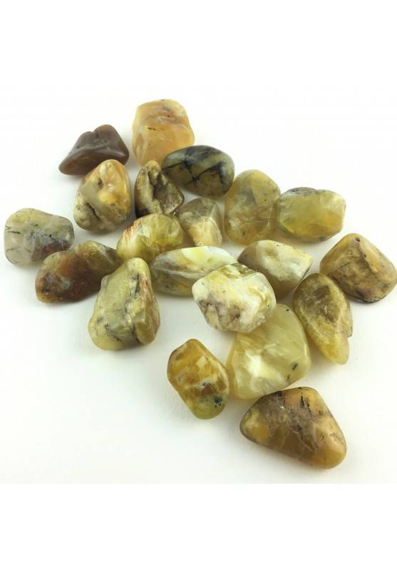 Yellow OPAL Tumbled Crystal Healing High Quality Specimen Chakra Reiki-1