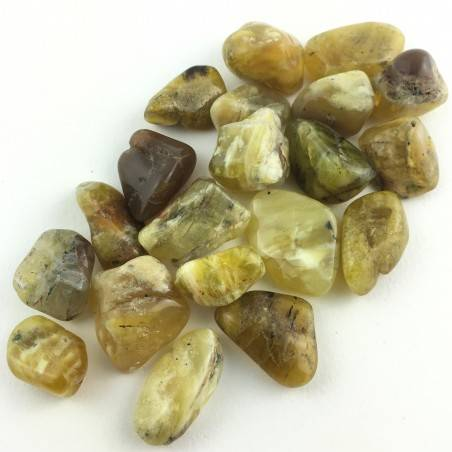 Yellow OPAL Tumbled Crystal Healing High Quality Specimen Chakra Reiki-3