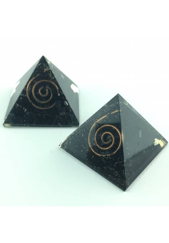 ORGONITE Big PYRAMID Shungite no Elecrtosmog Furniture Specimen Energy Spirit-1