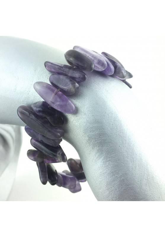 copy of Tumbled bracelet Amethyst Minerals Crystal Healing Chakra Zen-1