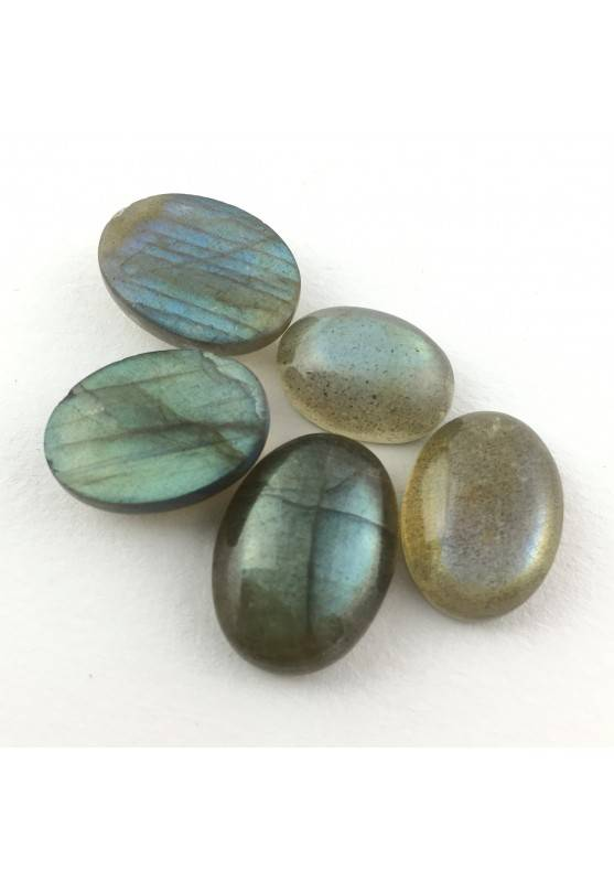 Oval Cabochon LABRADORITE Blue/Gold Extra Quality Crystal Healing 7/12 Carat-1