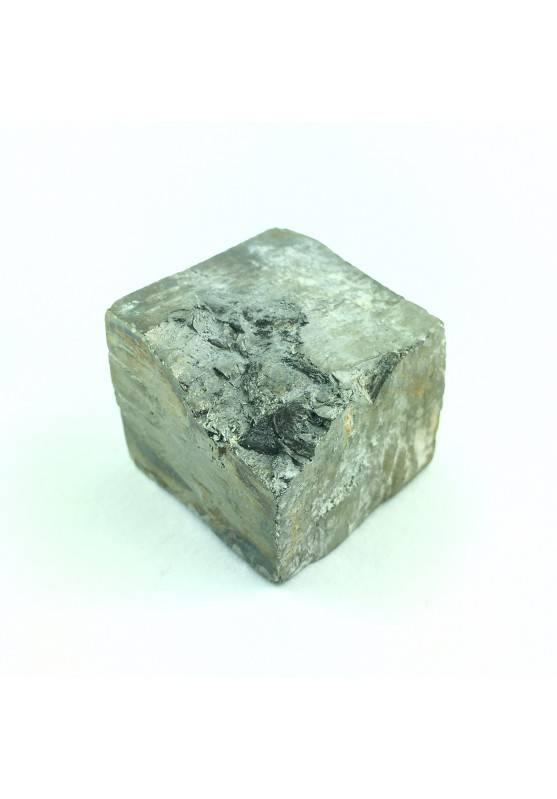 Cubo Grezzo Minerale di PIRITE di Navajun 52gr Collezionismo Cristalloterapia-2