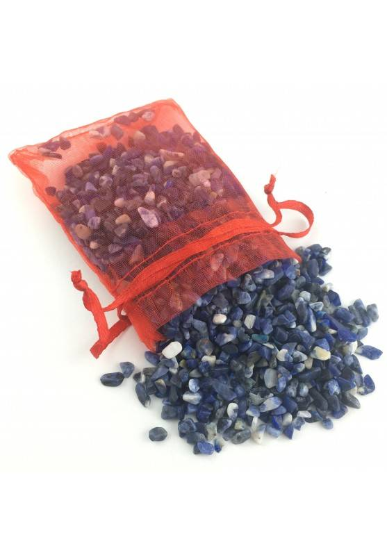 Sodalite Chips in 100gr Package Bag Minerals Crystal Healing Chakra Reiki-1