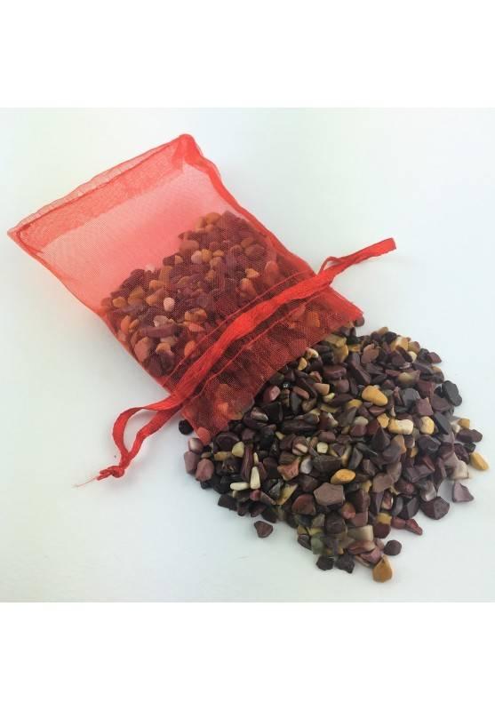 Jaspe Mokaíta Rodado bolso 100 gr Terapia de Cristales Chakra Minerales Chakra-1