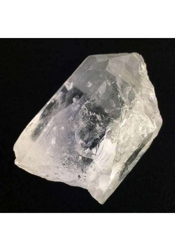 Punta cruda CUARZO IALINE Calidad extra Terapia de cristales Decoración de Hogar-1