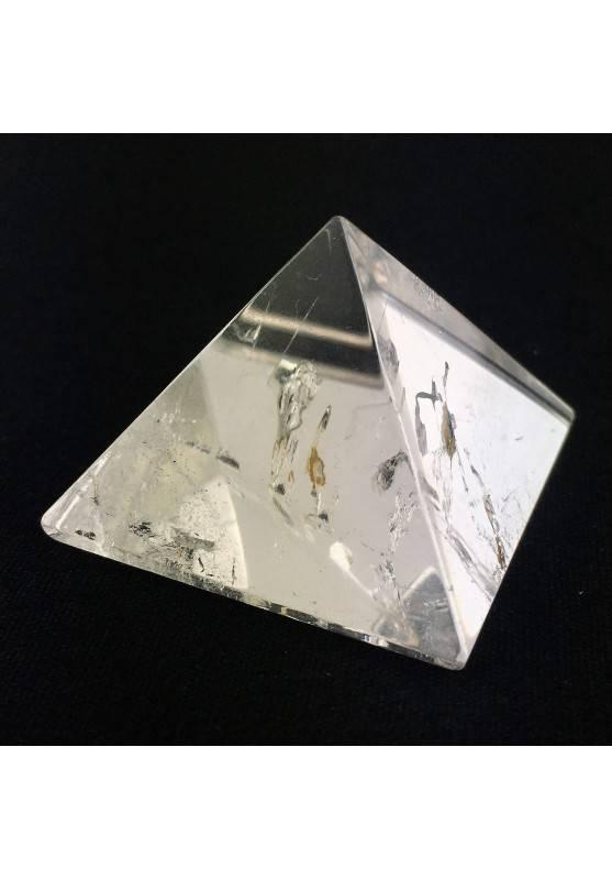 Wonderful PYRAMID Hyaline Quartz Rock CRYSTAL Crystal Healing Chakra Reiki A+-1