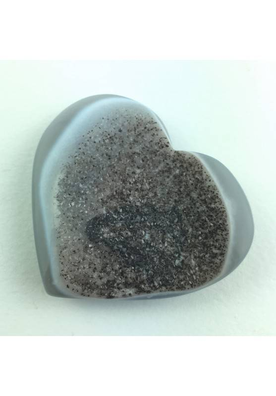Beautiful Rare Heart in Crystallized AGATE Extra Quality Crystal Healing-1