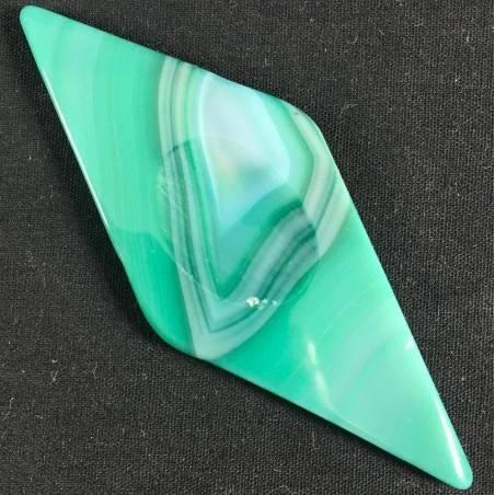 ANTISTRESS AGATA VERDE Rombo Colore Qualità Cristalloterapia Minerali Chakra A+-1