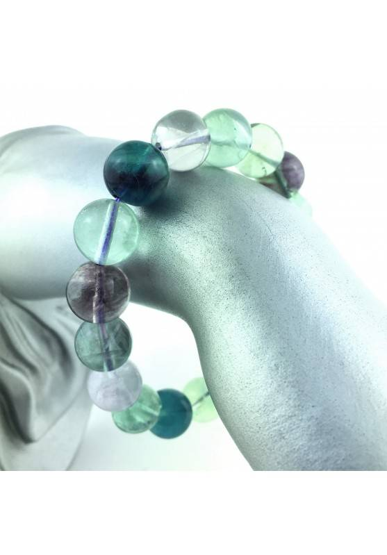 copy of Bracelet Big Fluorite Green Extra Quality Crystal Healing Chakra Reiki Zen-1