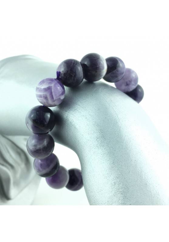 Bracialet Shamanic Amethyst Chevron Crystal Healing Chakra Reiki Zen-1