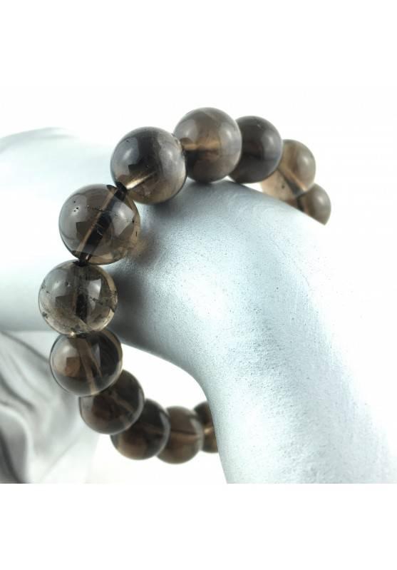 Bracialet Smokey Quartz Crystal Healing Extra Quality Capricorn Sagittarius-3