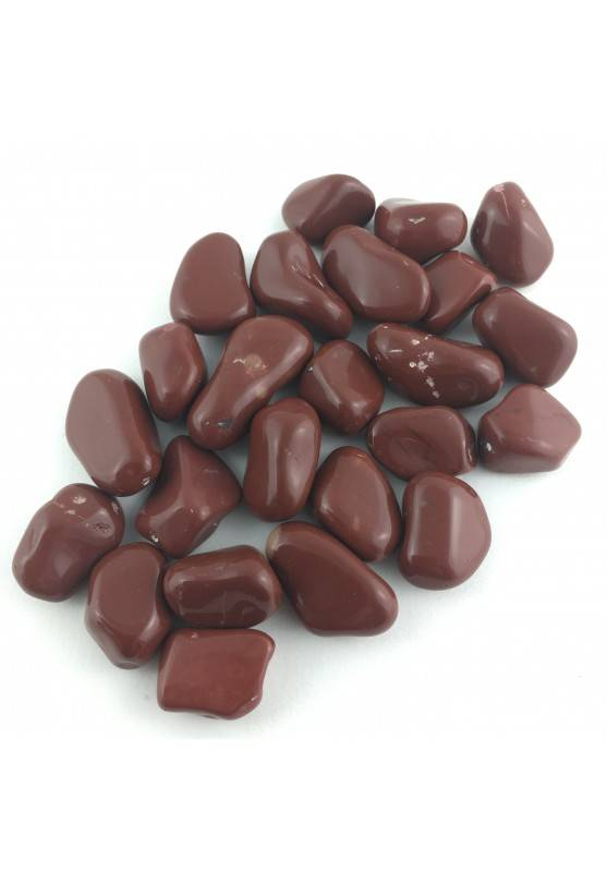 Red Jasper Tumbled MINERALS Crystal Healing A+ [ Tumbled Red Jasper Stone-1