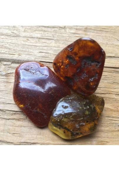 LARGE Chiapas Red AMBER MEXICO Tumbled Stone Crystal Healing High Quality Chakra A+-1