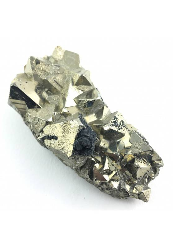 MINERALS * Octahedron Pyrite from Perù Specimen High Quality Minerals-1