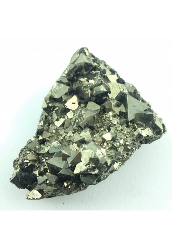 PIRITA Octaedrica con Esfalerita Minerales terapia de Cristales A+ 110gr-1
