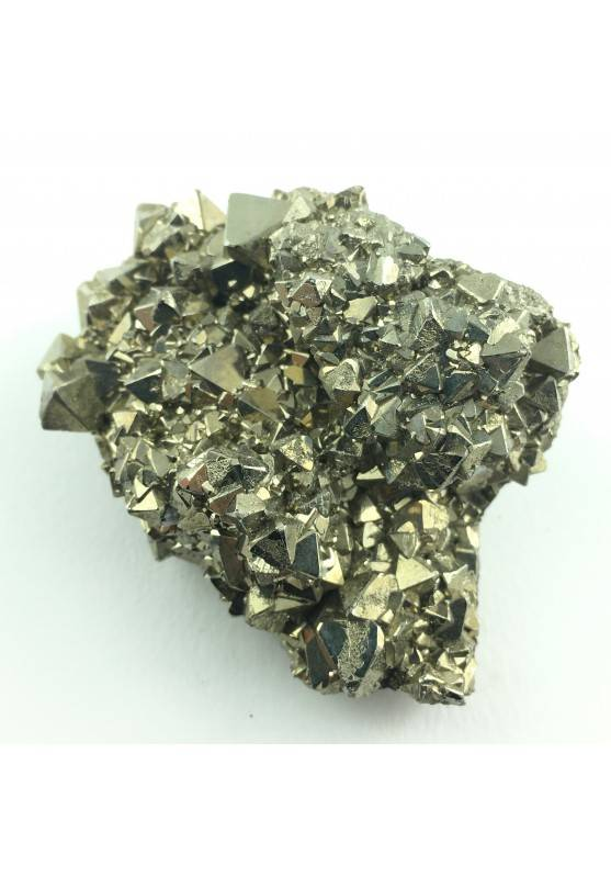 Mineral * Wonderful Octahedron Pyrite of perù Specimen Minerals Chakra Zen-1