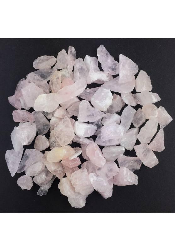 QUARZO ROSA Grezzo Collezionismo Cristalloterapia 1-9gr Chakra Reiki Zen-3