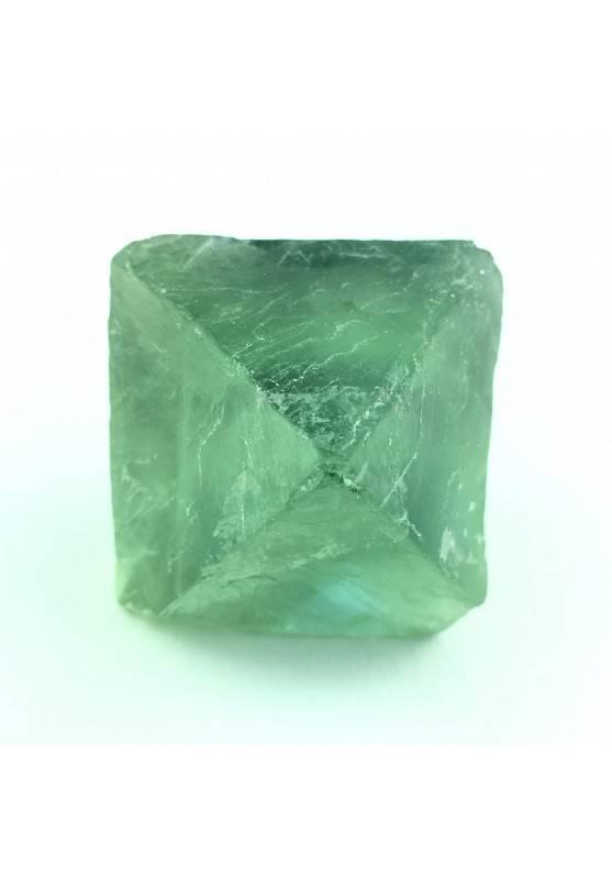 Big Rough Octahedron Green Fluorite BIG Duble Pyramid Specimen Chakra Reiki Zen-1