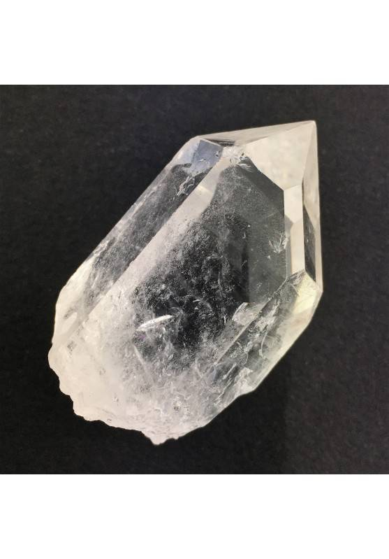 Bellissima Punta Grezza QUARZO IALINO Cristalloterapia Collezionismo Trasparenza-1