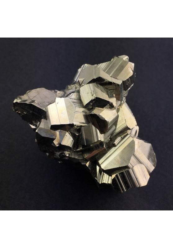 PIRITA Pentagonal Perù Roca Terapia de Cristales Crudo 233g Chakra Zen A+-1