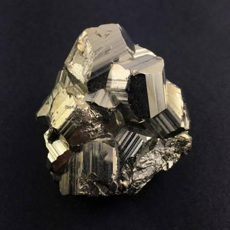 Campione di PIRITE Pentagonale Minerale Alta Qualità Collezionismo A+ Zen-2