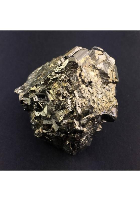 Campione di PIRITE Pentagonale Minerale Alta Qualità Collezionismo A+ Zen-3