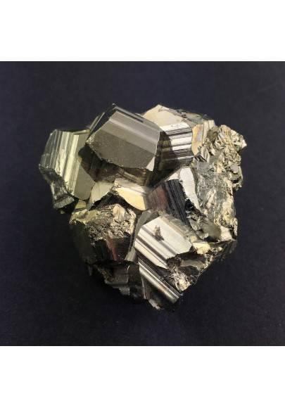 Campione di PIRITE Pentagonale Minerale Alta Qualità Collezionismo A+ Zen-1