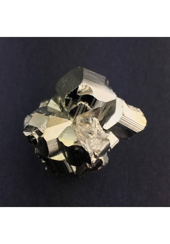 PIRITA Pentagonal Perù Crystal Healing Decoración de Hogar Zen 88gr Chakra Reiki-1