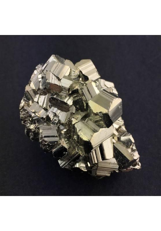 Minerali PIRITE Pentagonale Arredamento Alta Qualità Collezionismo 109g Zen A+-1