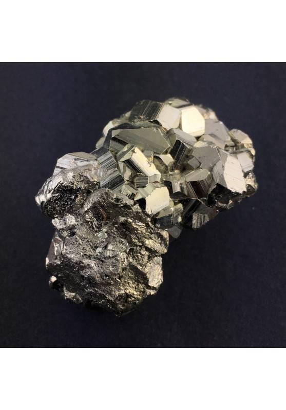 Ottima Minerali PIRITE Pentagonale Arredamento Alta Qualità 105gr 53x35x30mm A+-1
