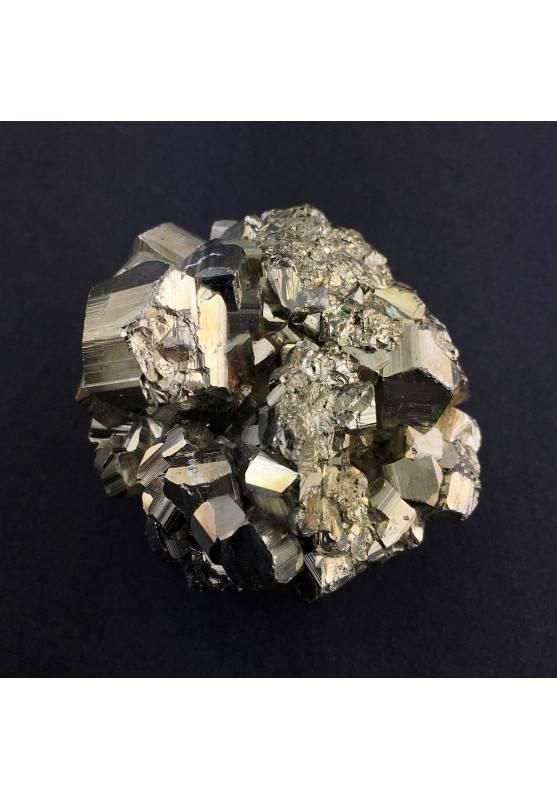 Bellissimo Campione di PIRITE Pentagonale Arredamento Alta Qualità Minerale A+-1