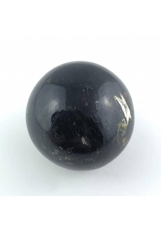 ESFERA TURMALINA NEGRA Terapia de cristales Decoración de Hogar Chakra Zen-1