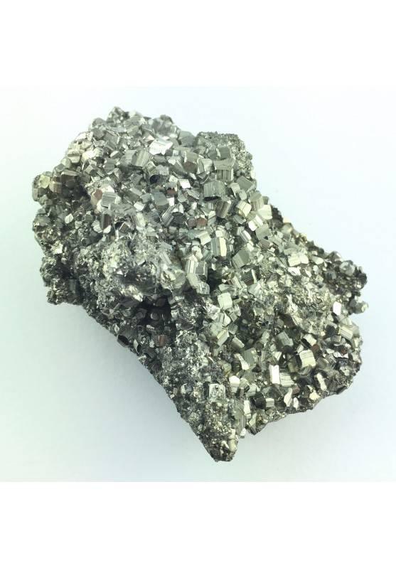 Hermosa Grande PIRITA Decoración de Hogar 236gr Minerales Chakra Reiki Zen A+-1
