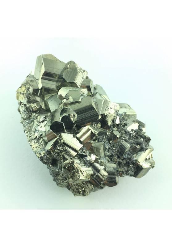 Ottima PIRITE Grezza Minerale Pentagonale Collezionismo Cristalloterapia A+ Zen-2