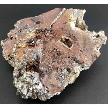 Rara CALCITE NERA Grezza Minerali Stupenda Collezionismo Cristalli Zen A+-2