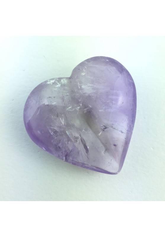 Minerales * Perfecto CORAZÓN AMATISTA Cristales Terapia de Cristales Zen-1