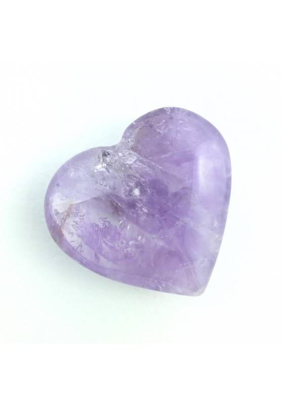 Perfect Polished Amethyst Heart Crystal Healing Love Mineral Chakra Reiki A+-1