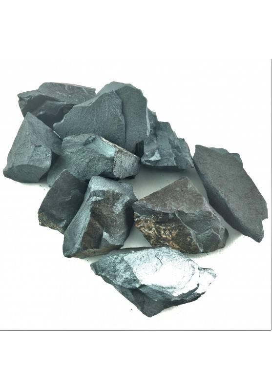 EMATITE GREZZO Naturale Colore Nero Minerali Cristalloterapia Chakra Reiki A+-1
