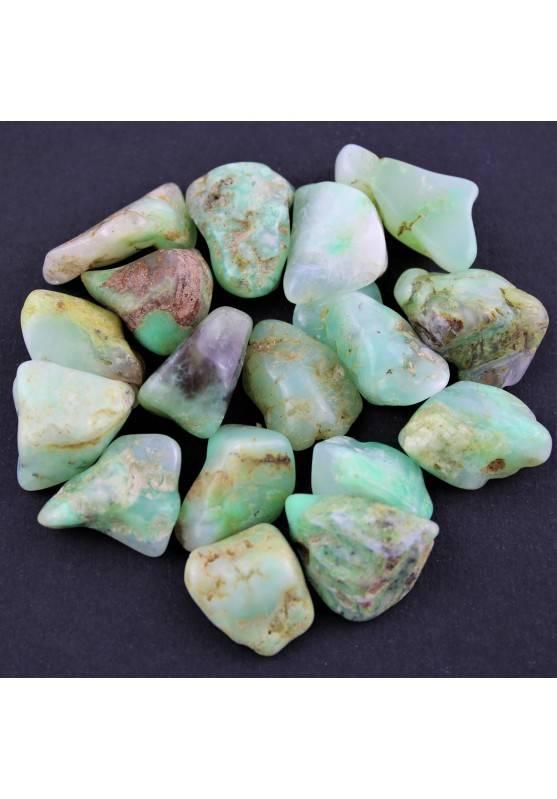 Green CHRYSOPRASE Tumbled Stone 1pc Western Australia Crystal Healing Quality Chakra Reiki A+-1