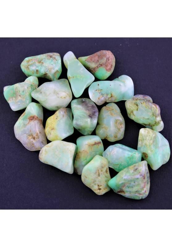 Rodado CRISOPRASA Western Australia Cristaloterapia Calidad Chakra Reiki A+-2