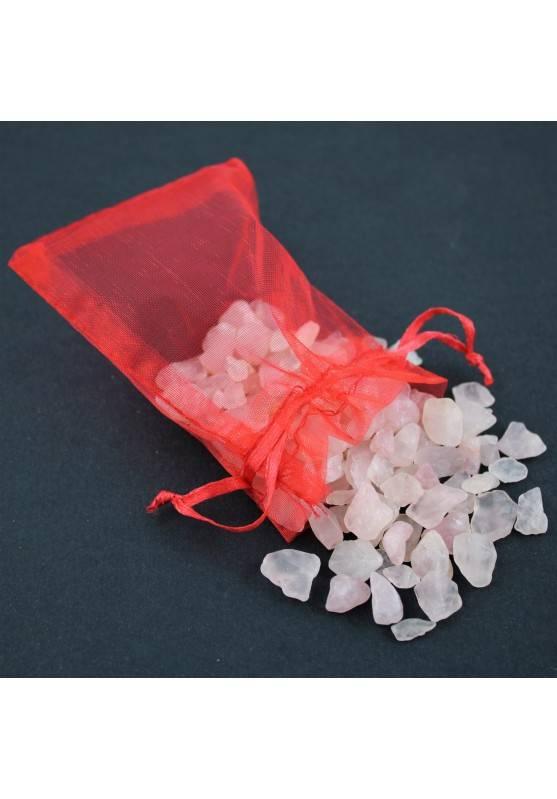 Quarzo Rosa Burattato Mignon 50g Burattati Minerali Cristalloterapia Cristalli-1