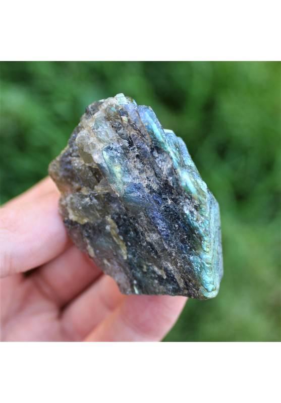 LABRADORITA Lado Liso Terapia de Cristales A+ 62g Chakra Reiki Zen Alta Calidad-2