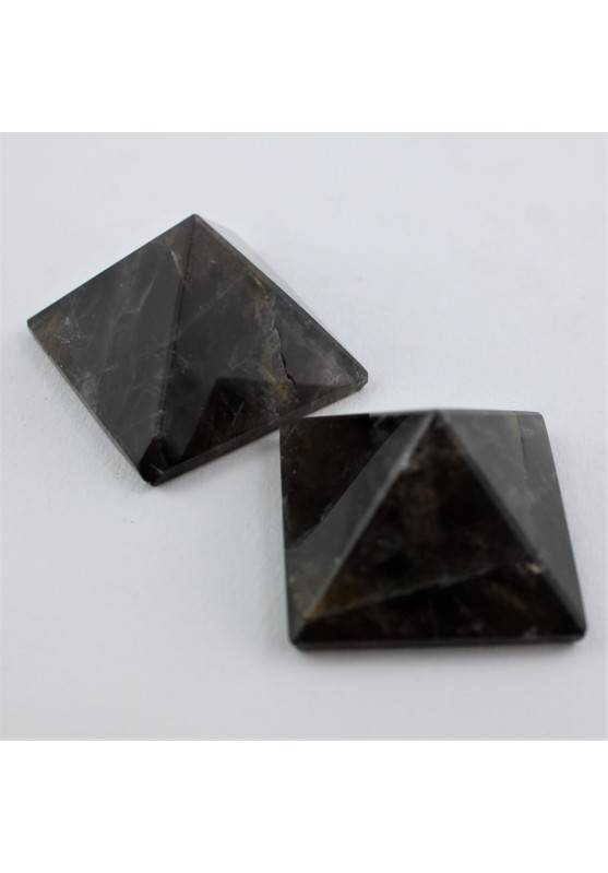 Pirámide en CUARZO FUMÈ Pulido Terapia de Cristales Alta Calidad A+ Chakra Zen-1