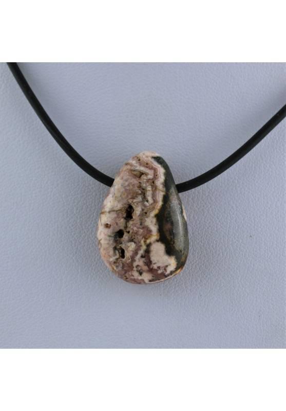 Pendant Rodocrosite Tumbled Necklace Drop Crystal Healing Chakra Alta Calidad-2