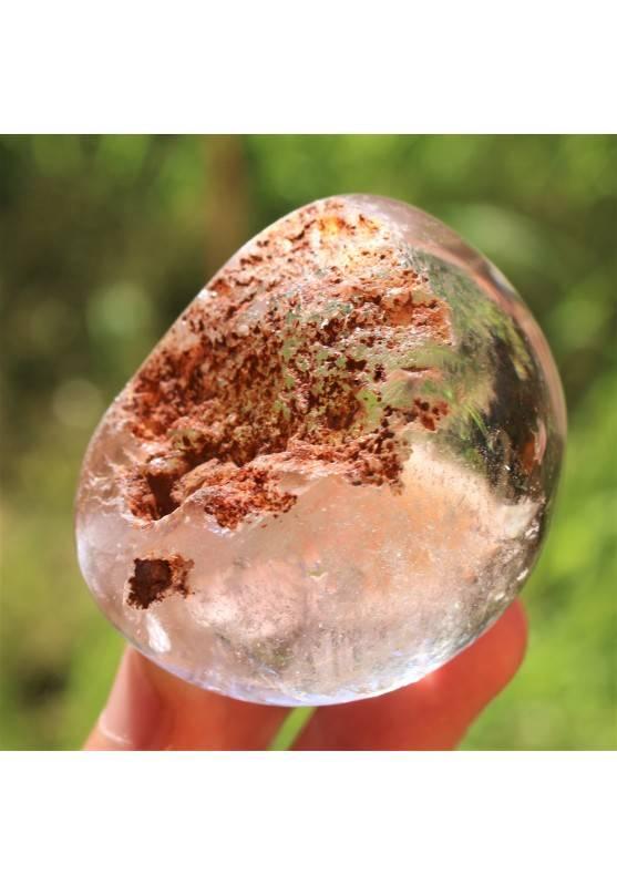 CUARZO RUTILADO LODOLITA Alta Calidad 177g Decoración de Hogar Crystal Healing-1