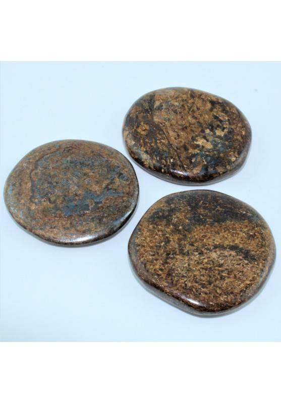 Minerales BRONCITA Palmstone Rodado Minerales Terapia de Cristales Chakra Zen A+-1