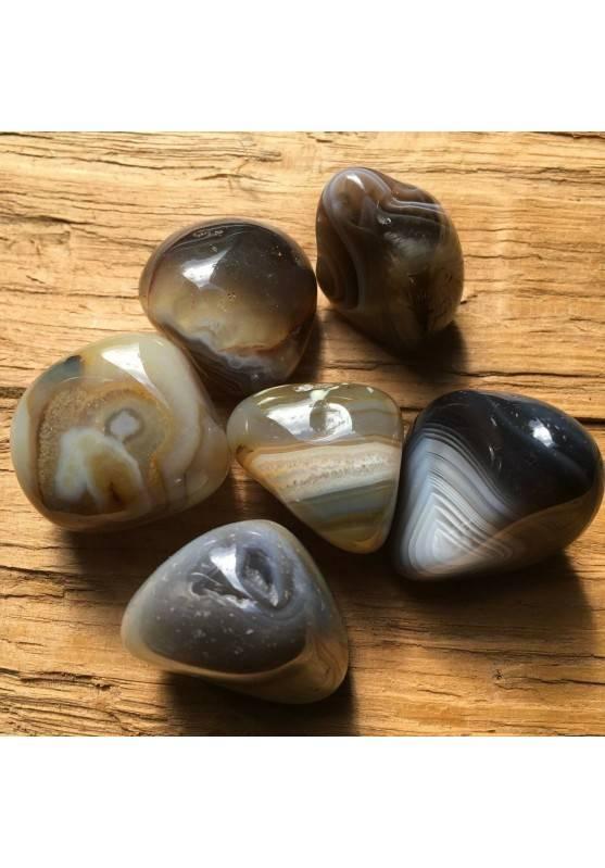 LARGE Botswana AGATE Tumbled Stone Gemstones Crystal Healing A+-1