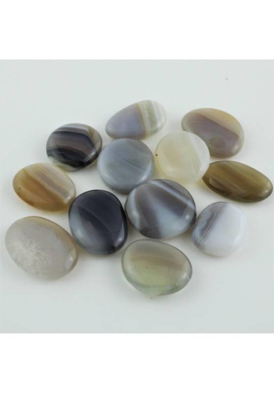 Palmstone Tumbled Botswana Agate Crystal Healing Massage Chakra Reiki Zen A+-1