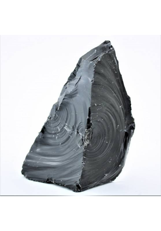 BIG Black OBSIDIAN Flame Chunk Volcanic High Quality From Mexico Home Decor A+-1