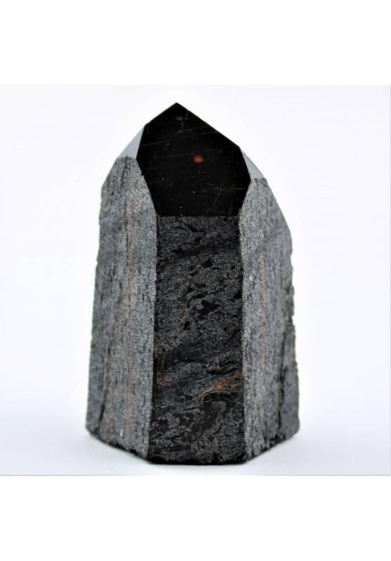 Minerali * Grande Punta TORMALINA NERA Collezionismo Chakra 182g Alta Qualità A+-1